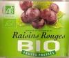 100 % Pur Jus Pasteurisé de Raisin Rouges - Produit