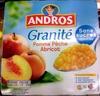 granité pêche abricot - Product