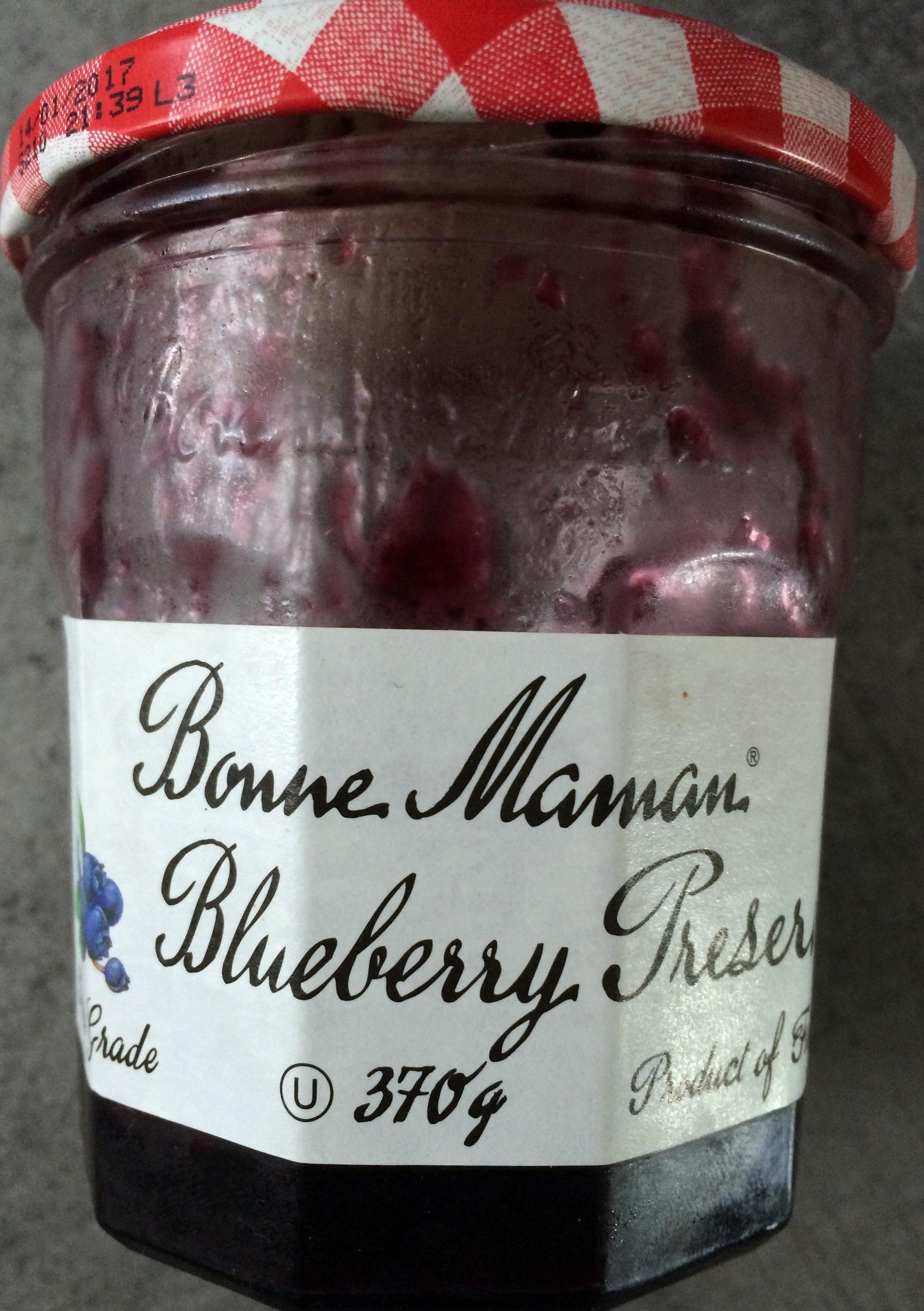 Blueberry Preserve - Produit