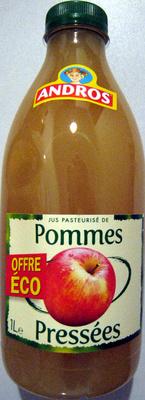 Jus pasteurisé de Pommes pressées Andros - Produit - fr