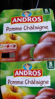Compote Pomme Châtaigne - Produit