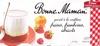 Yaourt à la confiture (fraises, framboises, abricots) 8 pots - Produit