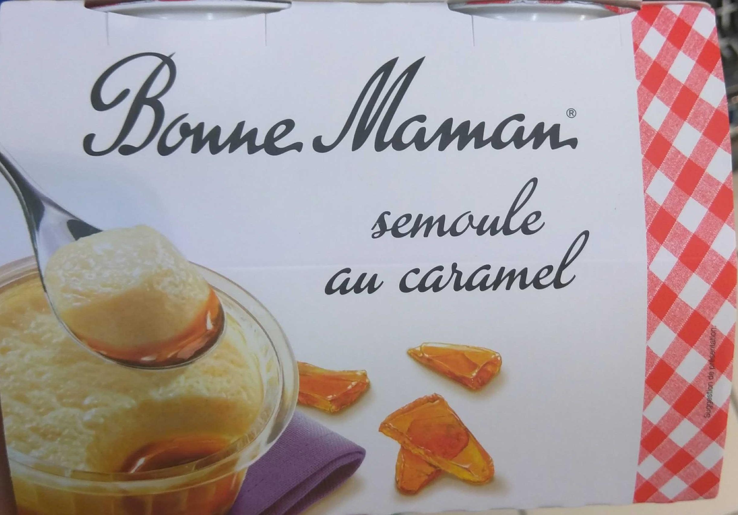 Semoule au Caramel - Produit - fr