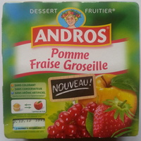 Pomme Fraise Groseille - Produit - fr