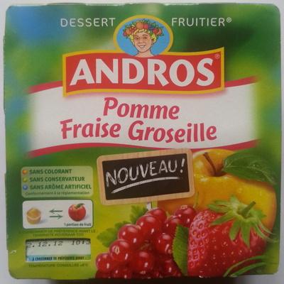 Pomme Fraise Groseille - Product - fr