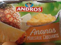 Ananas morceaux croquants - Produit - fr