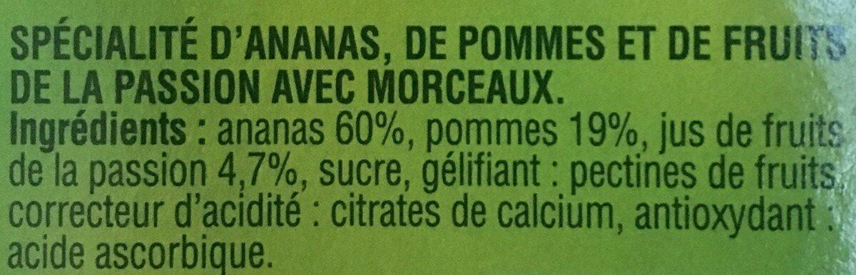 Ananas morceaux croquants - Ingrédients - fr