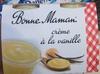 Crème à la vanille - Produit