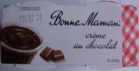 Crème au chocolat - Produit - fr
