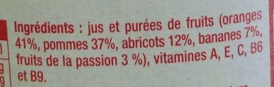 Multi vitamines - Ingredients - fr
