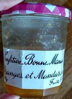 Confiture orange et mandarines - Produit