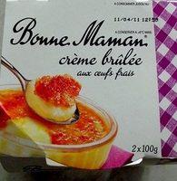 Crème brûlée aux oeufs frais - Product - fr