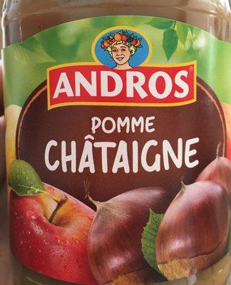 Compote pomme châtaigne - Producto