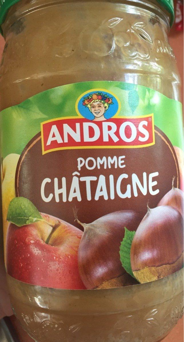 Compote pomme châtaigne - Produto