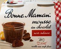 Mousse chocolat noir intense - Product