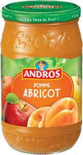 Compote Pomme Abricot - Produit - fr