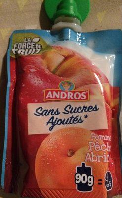 Compote Pocket sans Sucre Ajoutés Pomme Pêche Abricot - Produit - fr