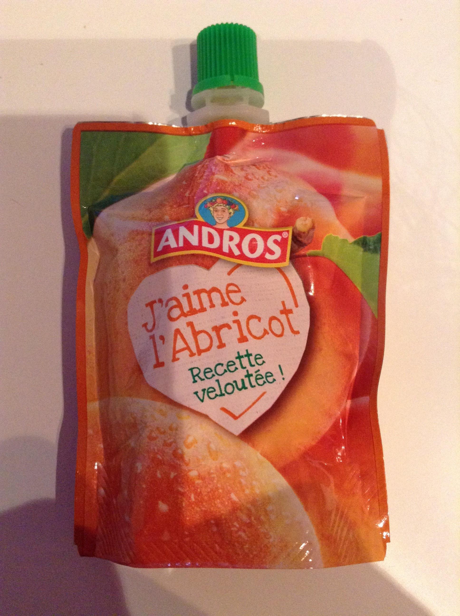 J'aime l'Abricot - Nutrition facts