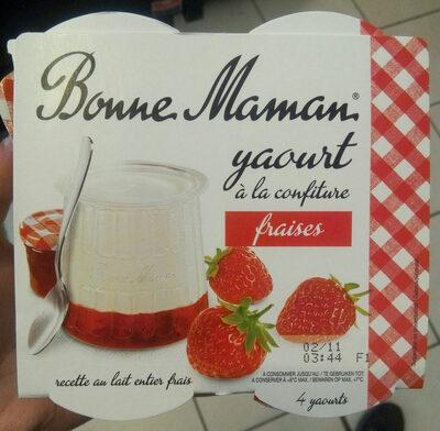 Yaourt a la confiture (fraises) - Product