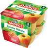 dessert fruitier pommes nature - Product
