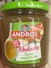 Rhubarbe - Produit