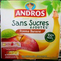 Pomme Banane sans sucres ajoutés - Product - fr
