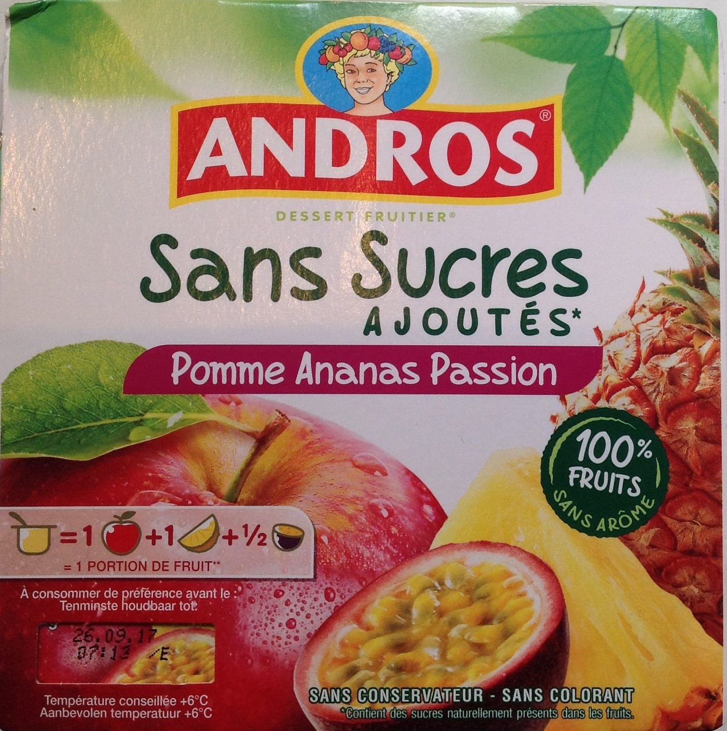 Pomme Ananas Passion - Product