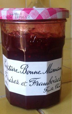 Confiture Bonne Maman Fraises et Framboises - نتاج - fr