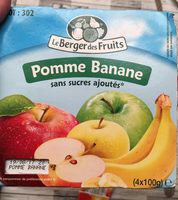 Compote pomme banane - Product - fr