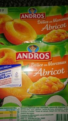 Abricot Morceaux Moelleux - Product
