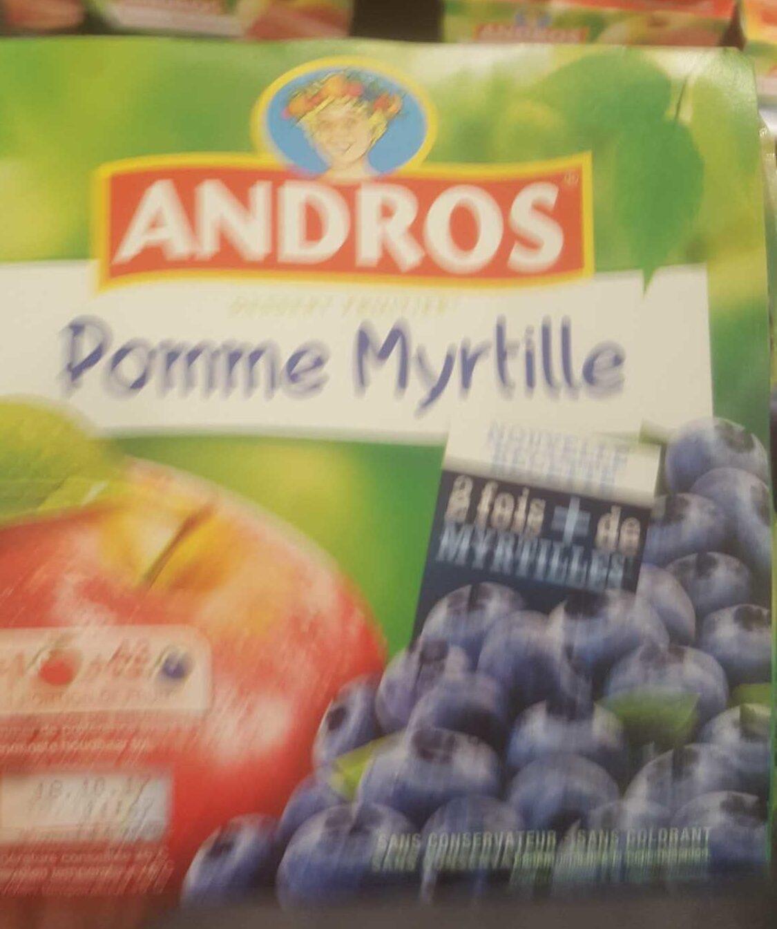 Pomme Myrtille - Product