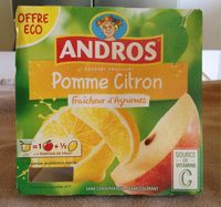 Compote pomme citron - Product