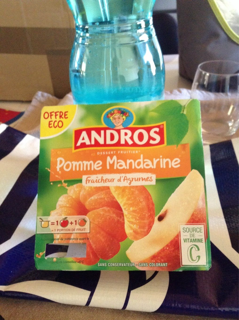 Compote pomme mandarine - Product