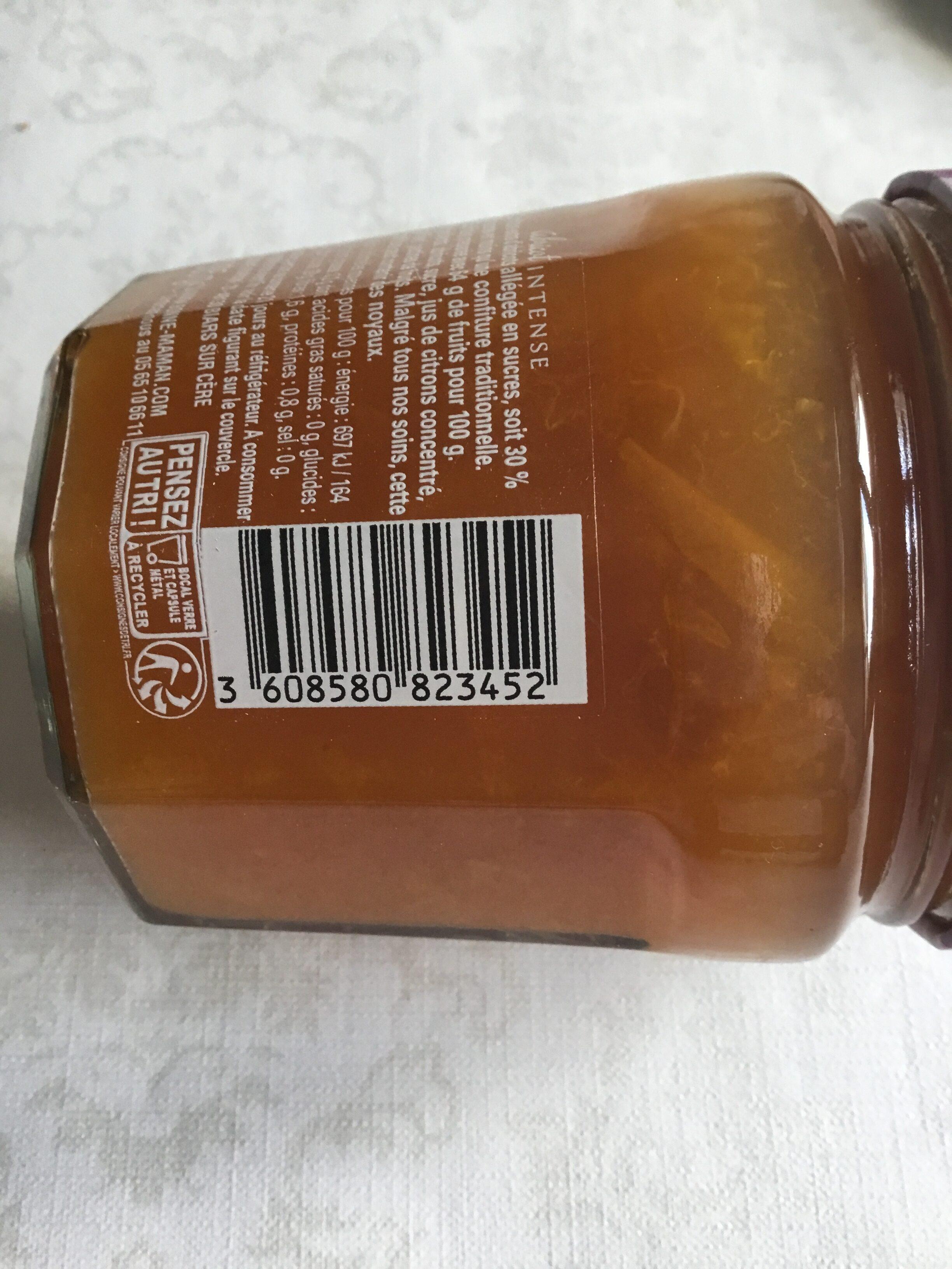 Abricot intense - Confiture moins sucrée - Prodotto - fr