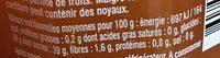 Abricot Intense - Informazioni nutrizionali - fr