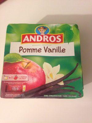 Dessert pomme vanille - Produit