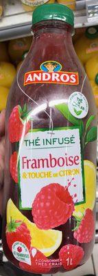 Thé infusé - Framboise & Touche de Citron - Product
