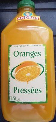 Oranges pressées 100% pur jus - Product - fr