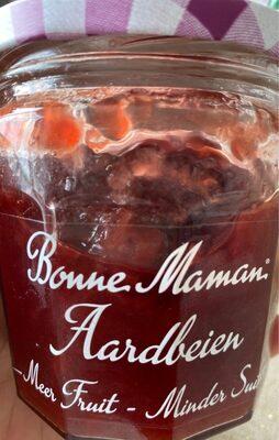 Bonne maman aardbeien meer fruit minder suiker - Product - nl