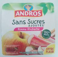 Pomme rhubarbe - Produit - fr