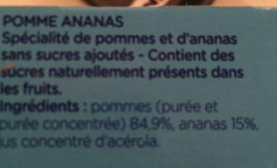 Compote Gourde - Ingrédients