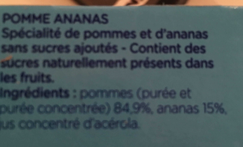 Compote Gourde - Ingrédients - fr