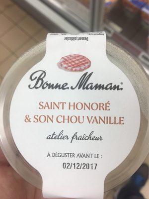 St honore et son chou vanille - Produit - fr