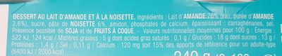 Le Délice Noisette - Ingredients - fr