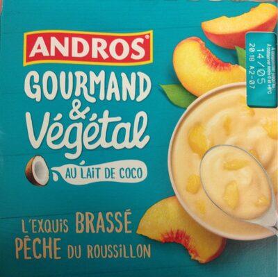 Gourmand & Végétal Pêche - Produto - fr