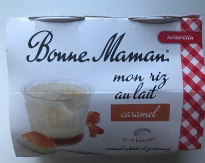 Mon riz au lait caramel - Product - fr