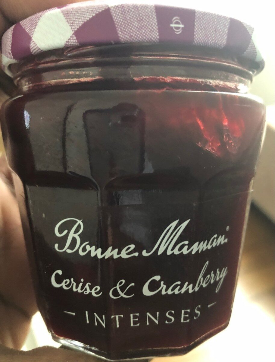 Bonne Maman Cerise & Cranberry - Prodotto - fr