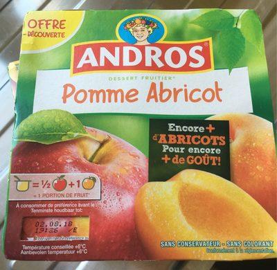 Dessert fruitier pomme abricot - Prodotto - fr