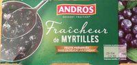 Fraîcheur de myrtilles - Product - fr