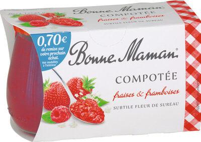 Compotée fraises🍓& framboises - Prodotto - fr